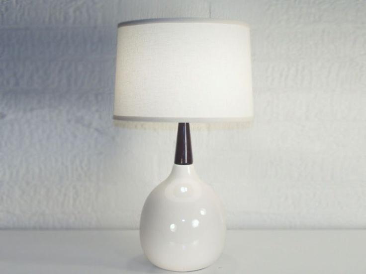 Bone rosewood table lamp