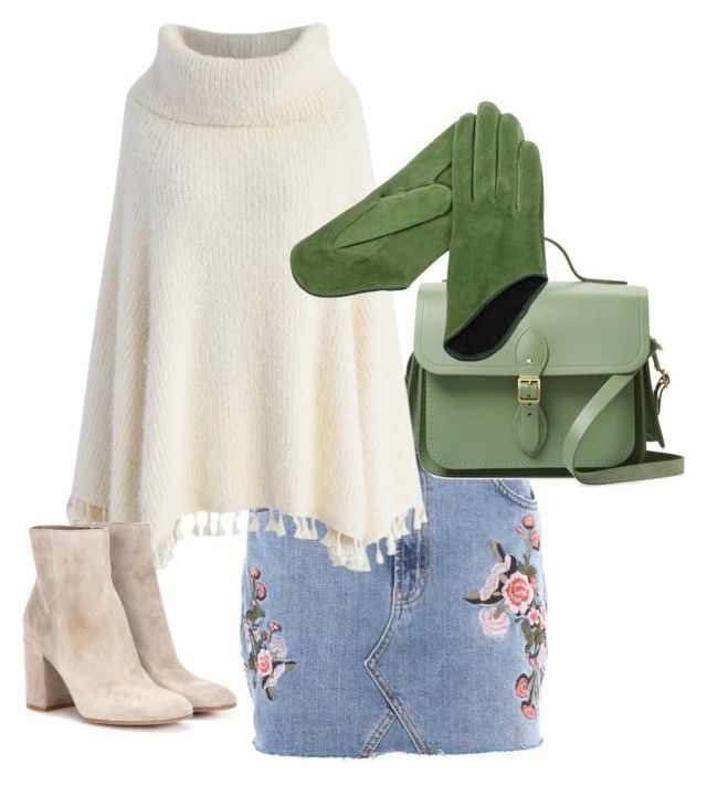 """""""karma gloves"""" by lbtimea on Polyvore featuring Topshop, The Cambridge Satchel Company, Chicwish and Gianvito Rossi"""