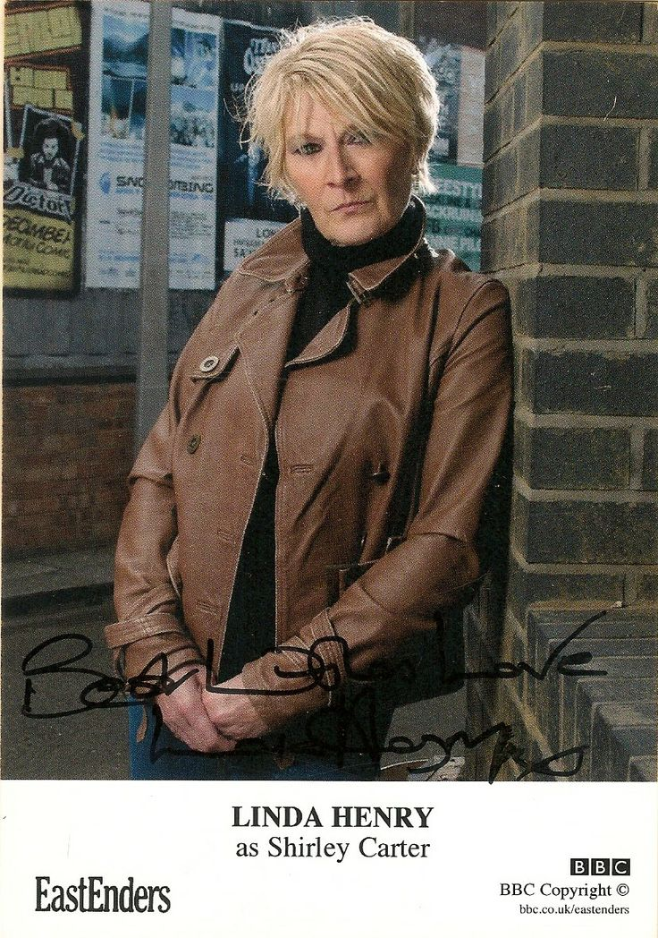 Shirley Carter played by Linda Henry #EastEnders