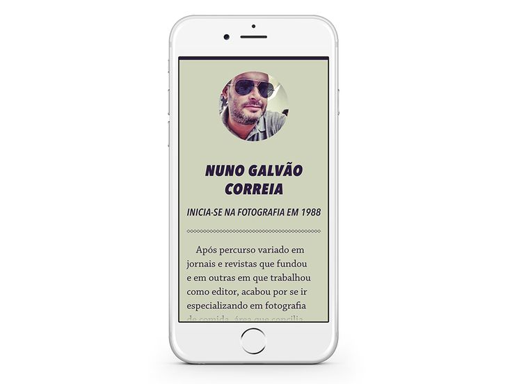 """FLASH VIEW – Interview with Nuno Correia - """"He was very fond of cams and objective when I was little ..."""" (Sample some spreads)."""