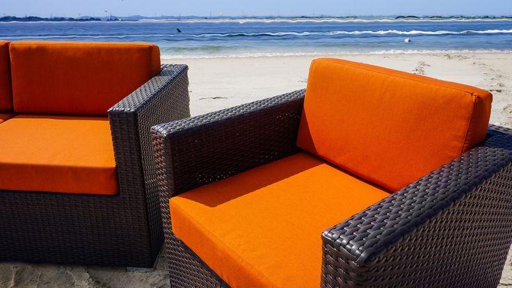 """Aruba"" lounge furniture  #RestaurantFurniture #restaurant #hospitality #sofa #ModularFurniture #LoungeFurniture #OutdoorFurniture #design #wicker #aluminum #outdoor"