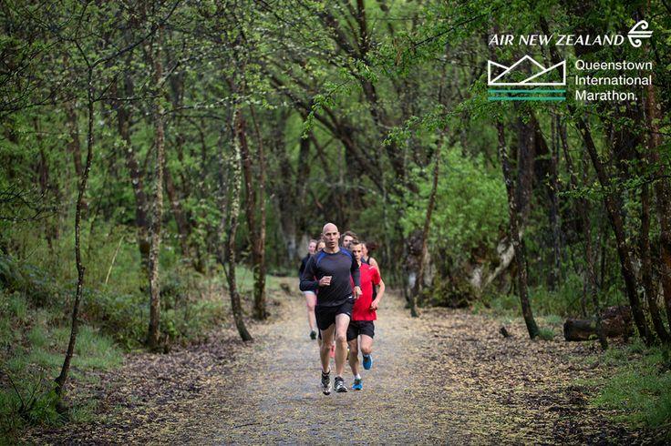 Arrow River Trail, part of the Air New Zealand Queenstown International Marathon www.airnzqueenstownmarathon.co.nz