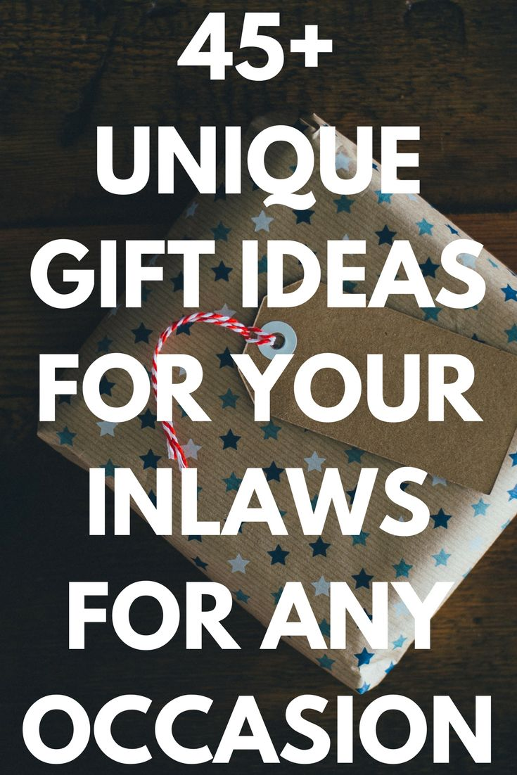 Best Gifts for Your Mother and/or Father In Law 50 Unique