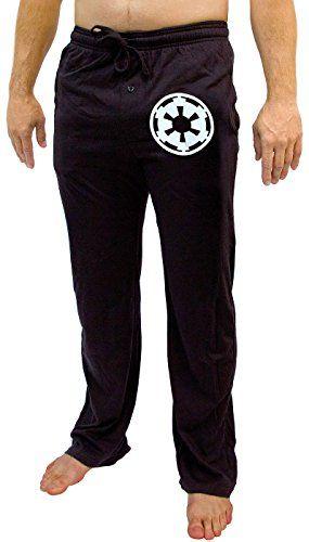 Star Wars Galatic Empire Imperial Crest Men's Black Sleep Pants //Price: $15.95 & FREE Shipping //     #starwarsmeme