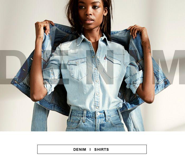 #denim #shirt #koszule #newcollection #autumnwinter14 #fallwinter #jacket #trucker #jeans #levis #leviscollection