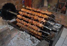 Dica de churrasco - espetos de frango no rolete …