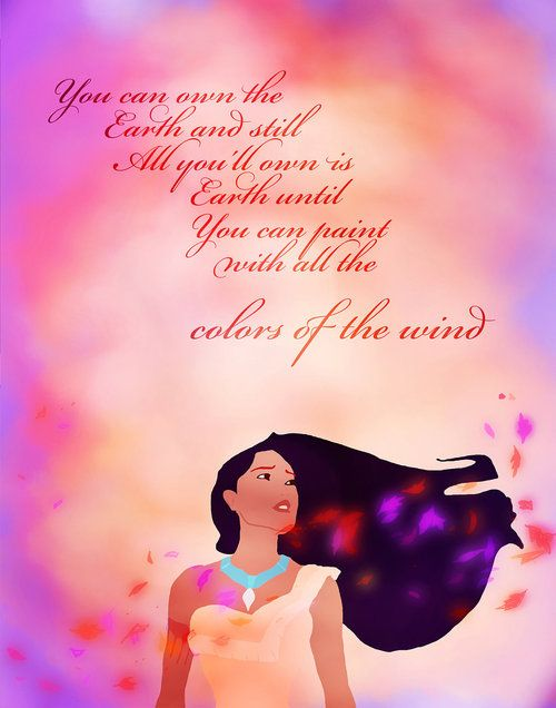 Pocahontas  Colors of the Wind  Disney SingAlong