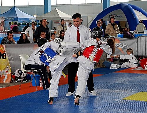 Giovani al taekwondo