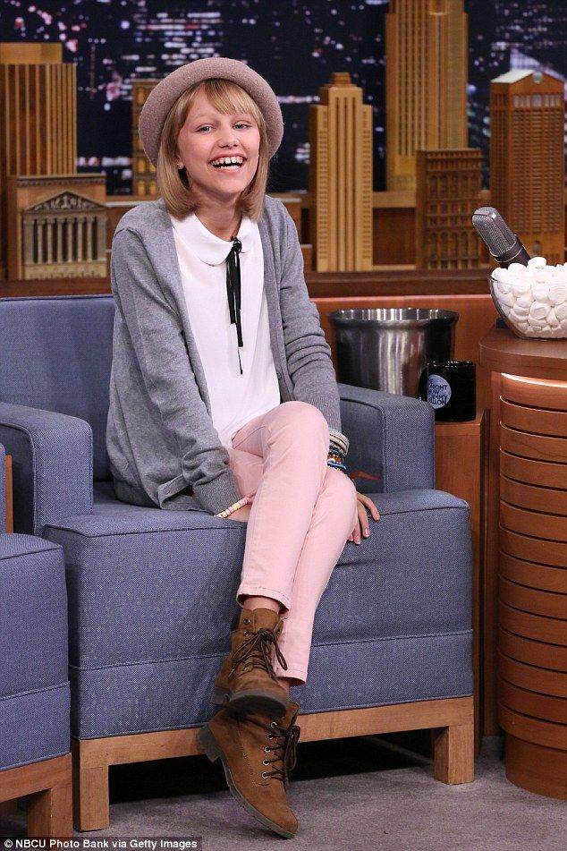On cloud nine! America's Got Talent winner Grace VanderWaal stopped by The Tonight Show Wi...