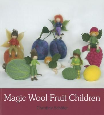Unspun sheep's wool, also known as magic wool, is the perfect material to craft an enchanting collection of miniature fruit children, which can be enjoyed by adults and children alike and are perfect for a nature corner or seasonal table. Christine Schafer, author of Magic Wool Fairies, includes detailed instructions on how to create fruits for ...