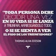 Toda persona debe decidir una vez en su vida...