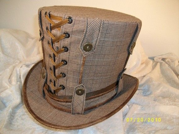 Steam Punk Hat @Mandi Smith T Interiors Smith T Interiors Smith T Johnson