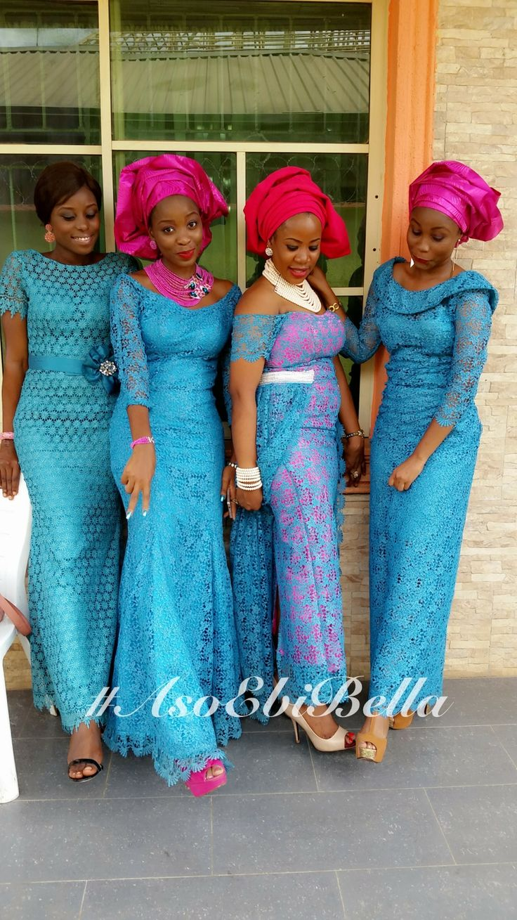 660 best african aso ebi lace styles images on pinterest for African dress styles for weddings
