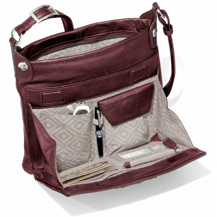 Brighton Shiloh Cross Body with built in wallet