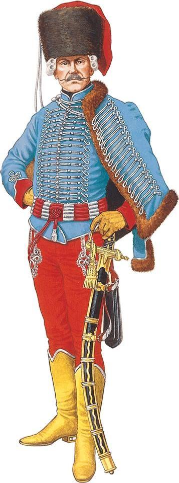 C'est un hussard hongrois de la fin du XVIIIème siècle. Hungarian Hussar of the late XVIIIth
