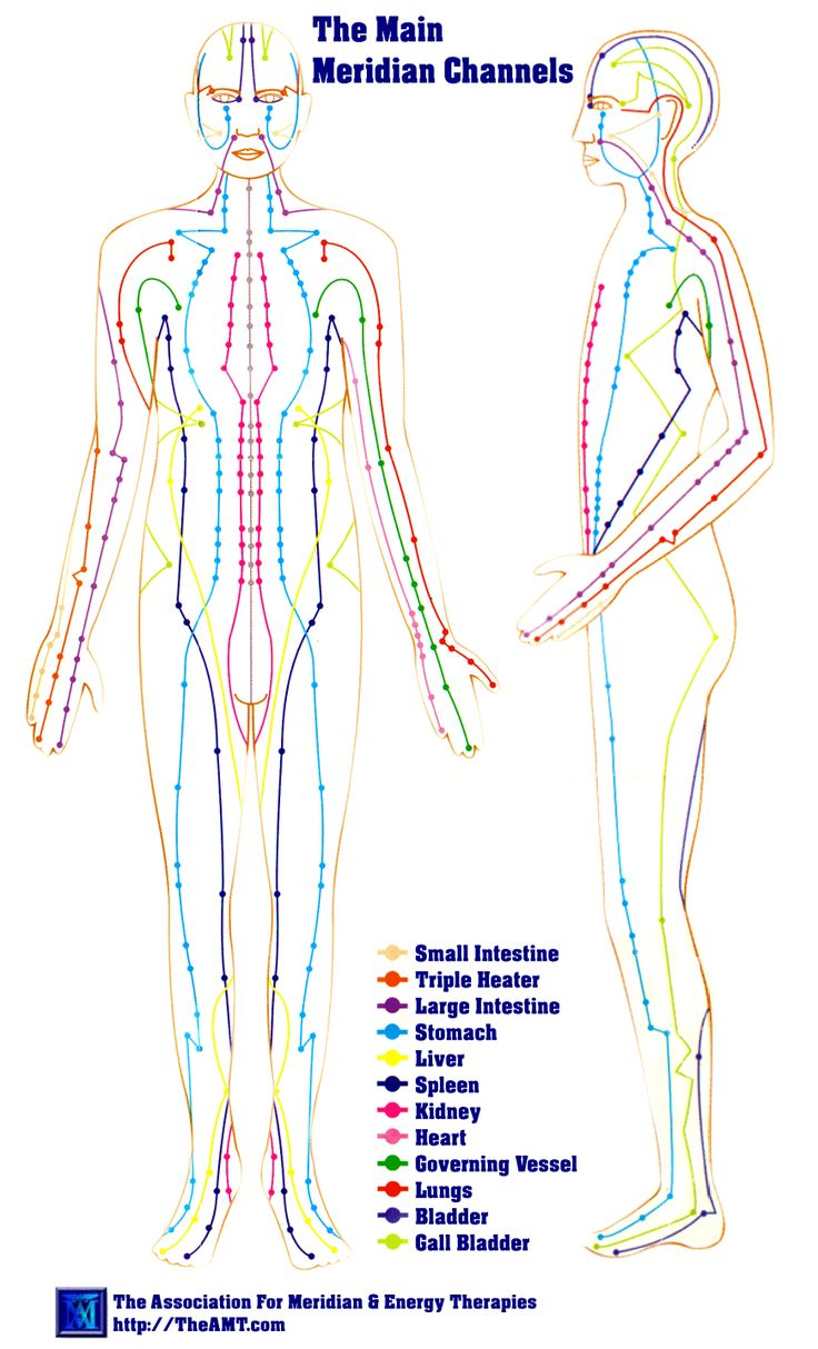 "Meridian Channels - The Main Body Meridians ~ The meridian system (simplified Chinese: 经络; traditional Chinese: 經絡; pinyin: jīngluò, also called channel network) is a traditional Chinese medicine belief about a path through which the life-energy known as ""qi"" flows.[1][2][3][4]"