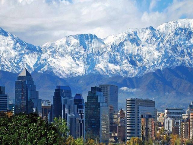 #Santiago, #Chile. We didn't know what too expect but we LOVED it.