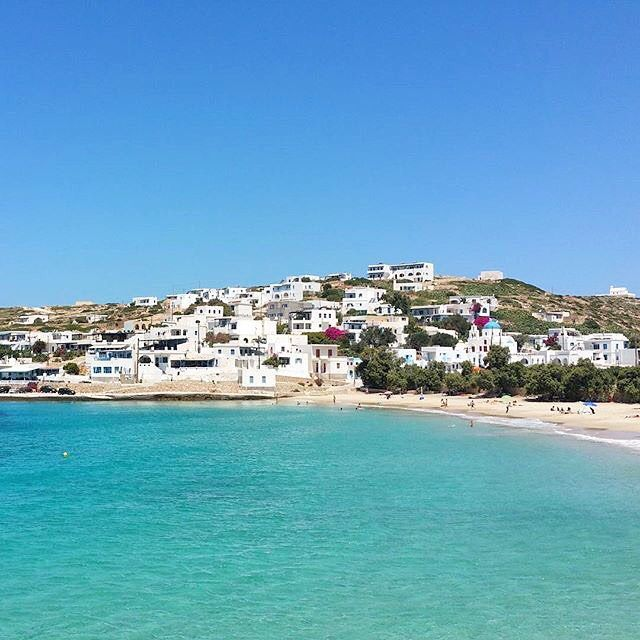 Stunning Stavros village at Donousa island (Δονούσα) . Beautiful White & Blue and wonderful Sandy beach .