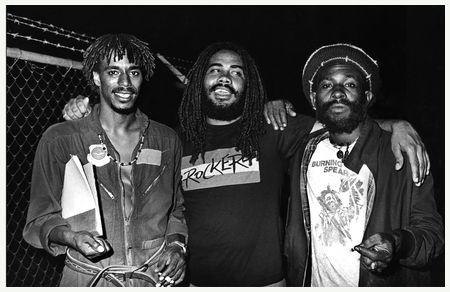 Junior Murvin, Jacob Miller and Burning Spear ( Sunsplash 1979)