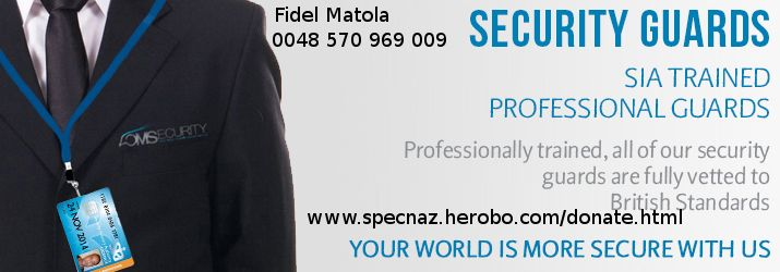 For Hiring Close Protection and Bodyguards Services in Wrocław POLAND  Call Our International Office: 0048-570-969-009 - Fidel Matola (Viber & WhatsApp)   WWW.SPECNAZ.HEROBO.COM/DONATE.HTML  For your convenience, our operatives speak fluent English, Polish, Russian, Bulgarian & Macedonian languages.  Our International Sales office is open 24/7  ◊Email: specnaz@hush.com
