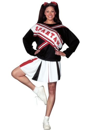 Rah Rah! Become the funny SNL cheerleader when you wear this Spartan Cheerleader Costume.