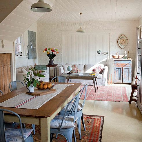 Gorgeous mix of rustic chic & European vintage. Red Brick Barn, Victoria