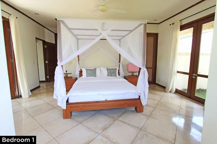 Bedroom 1 • PRIVATE POOL VILLA ON SANUR, BALI • FOR SALE • 800m2 land area • 2 Bedroom villa with private pool • Gated estate with expatriate villas • 24 hours security • 500 metres from bypass Sanur • 25 years leasehold • For Enquiries: (+62) 0819 9941 1123 • Email: info@villakambojasanur.com
