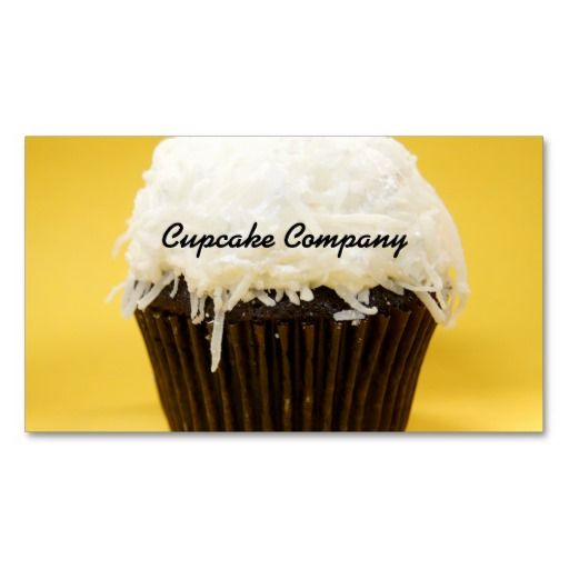 275 best chocolate business cards images on pinterest business chocolate coconut cupcake business cards colourmoves
