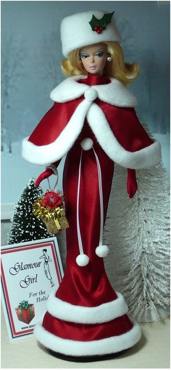 Barbies Happy Holidays - always looked forward to the holiday barbies: