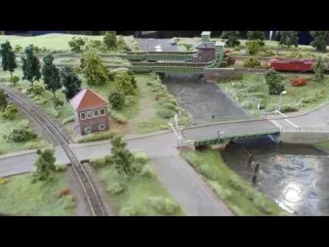 Spur N Modellbahn (1:160) - Modulanlage der Eisenbahnfreunde Friesland e.V. - YouTube
