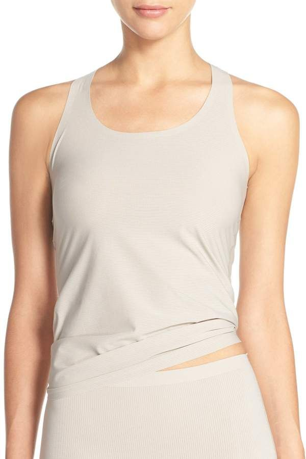 000adc90056a6 Spanx Perforated Racerback Tank Top  Perforated Spanx Racerback ...