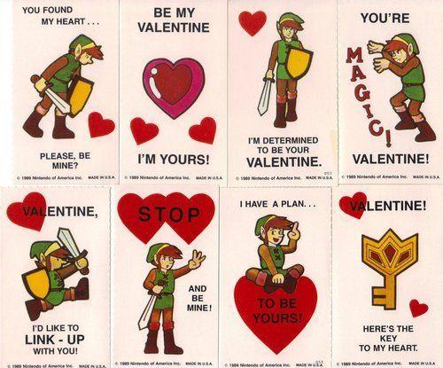 Legend of Zelda Valentine Cards: Diy Valentines, Valentines Stuff, Valentines Zelda, Nerdy Valentines, Link Zelda, Zelda Valentines Haha, Zelda Valentineshaha, Valentines Cards, Link Valentines