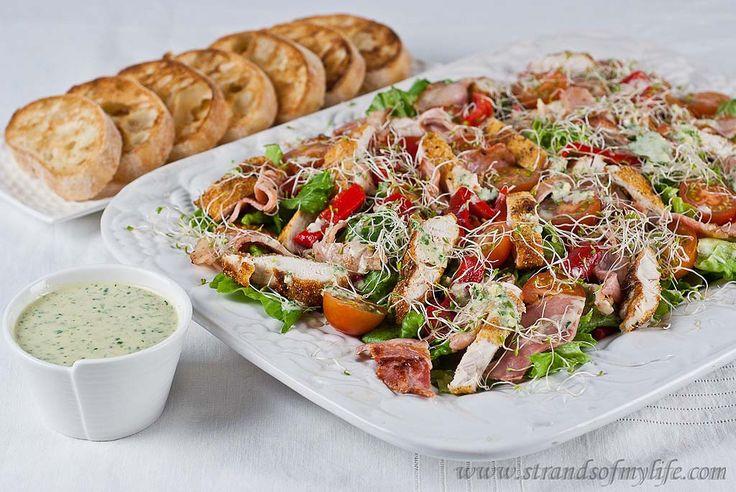 Crispy Polenta Chicken Caesar Salad - Jamie Oliver's 15 Minute Meals