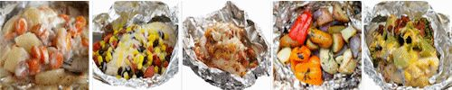 Easy Camping Meal and Food Ideas - Hobo Tin Foil Dinners