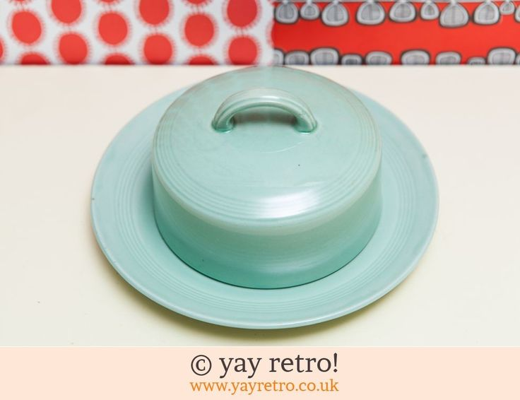 Rare Beryl Lidded Butter Dish - Retro and Vintage China, Glassware and Kitchenalia - yay retro!