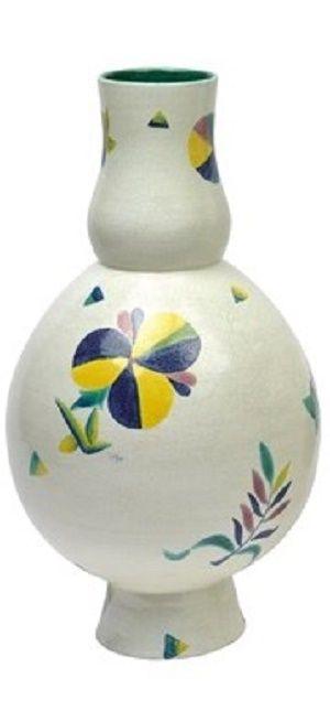 Hilda Jesser (German, 1894–1985)    Vasenpaar , 1921    ceramic    34.6 cm.
