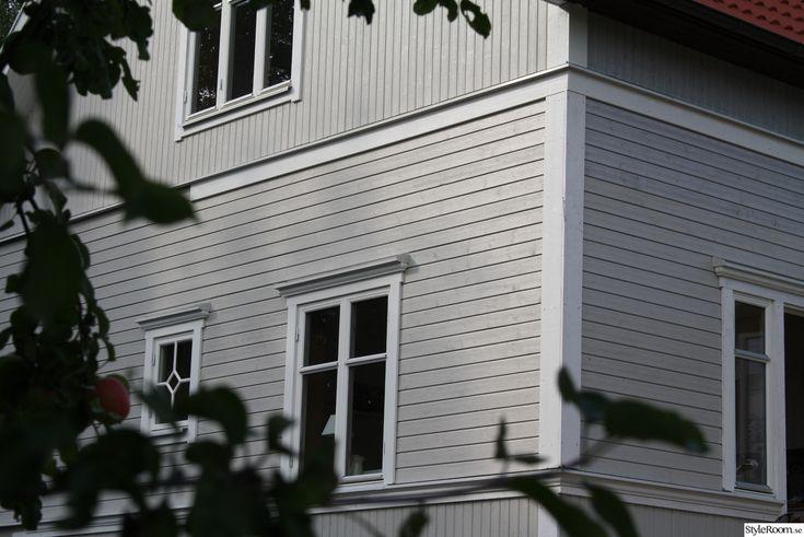 fasad träpanel liggande panel midja