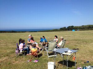 cornwall camping cornwall Porthleven Penrose Camp Site