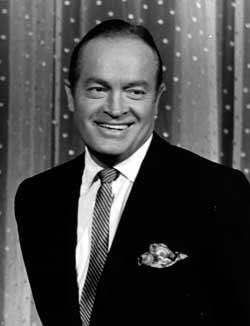 BOB HOPE. Born in Eltham, near London but emigrated with his family to America finding great success in vaudeville, radio, movies and television.: