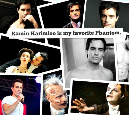 Ramin Karimloo is my favorite Phantom