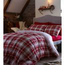 Catherine Lansfield Tartan Single Duvet Set - Made of pure cotton, the Tartan Duvet Cover features a checked print on one side and a striped pattern on the reverse. Perfectly complementing both modern and traditional interiors, the reversible duv http://www.MightGet.com/january-2017-11/catherine-lansfield-tartan-single-duvet-set-.asp