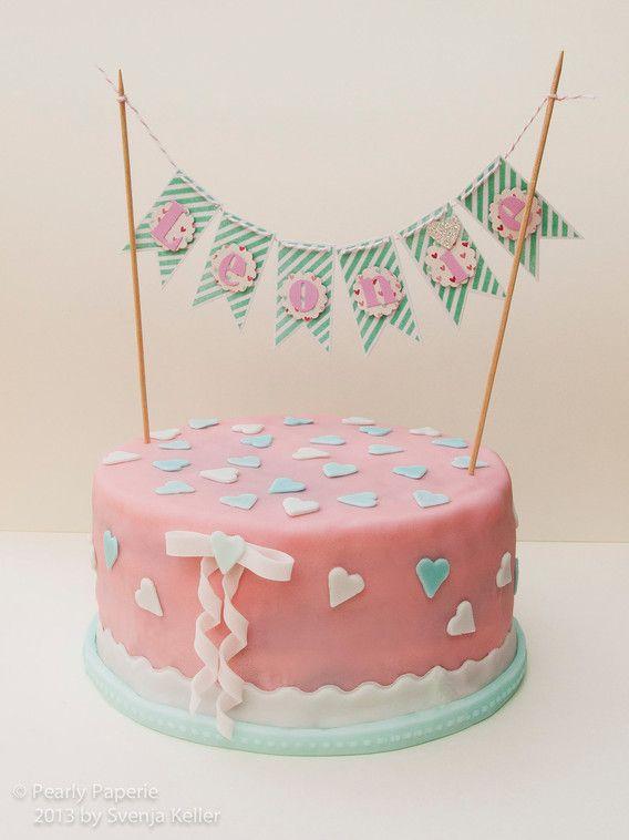 Geburtstagskuchen für Leonie