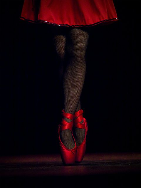 ballet in red