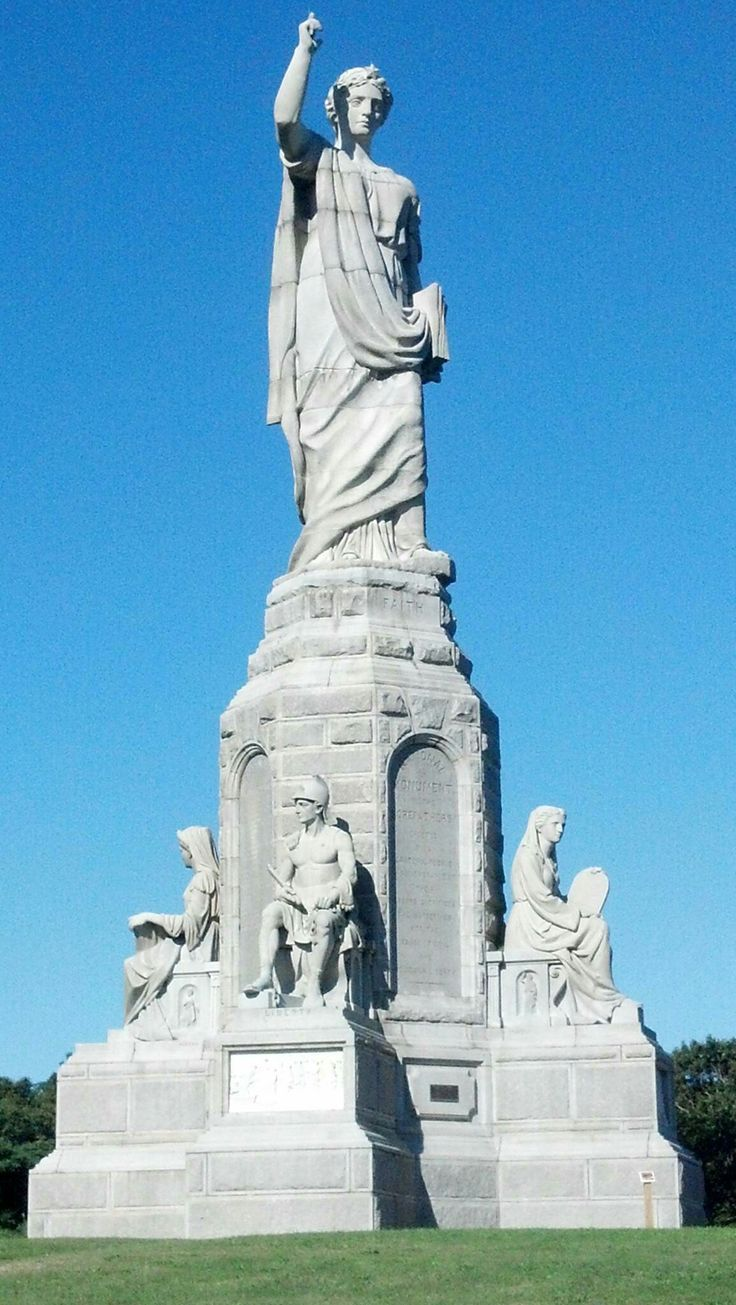 National Monument to the Forefathers, Plymouth Mass | Road ...