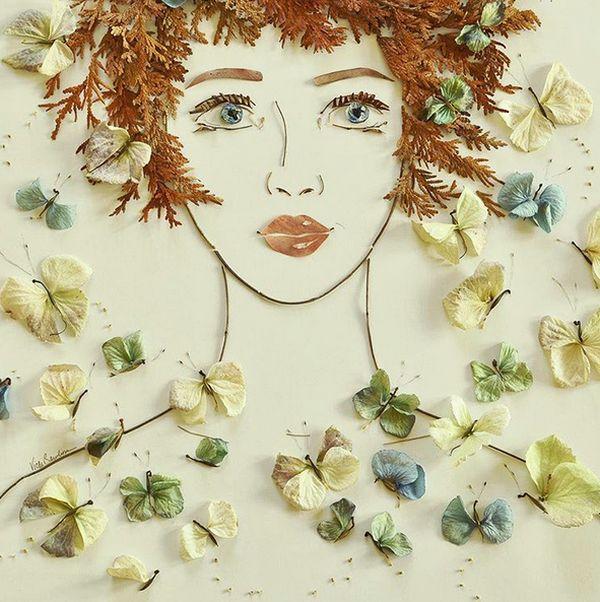Brooke & Vicki: чудесные флористические портреты - Ярмарка Мастеров - ручная работа, handmade