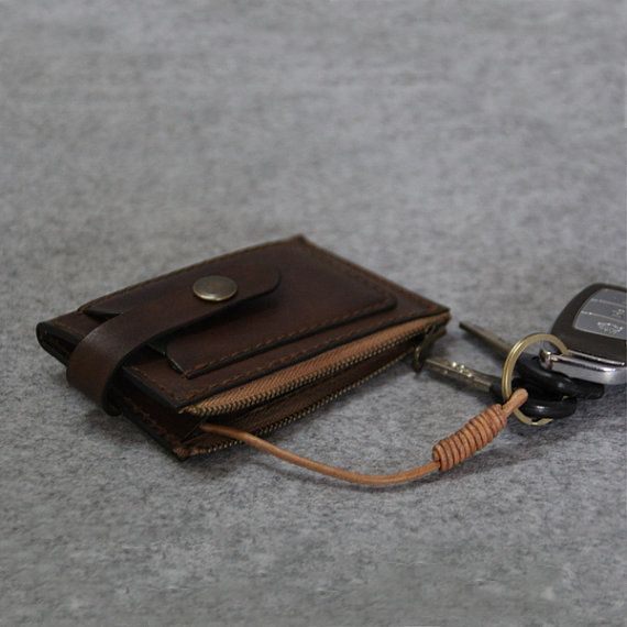 Genuine Leather car keys wallet Men key от FocusmanLeather