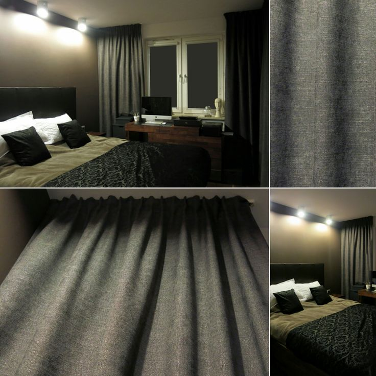 Sypialnia zasłony kotary tkanina Heban Ridex gruby splot niebanalny kolor fiolet brąz wrzos