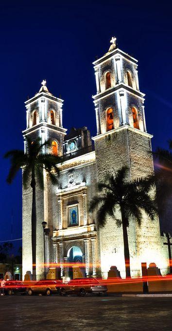 Cathedral of San Gervasio, Valladolid, Mexico