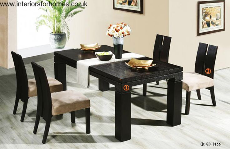 Contemporary Dining Room Tables And Chairs Custom Inspiration Design