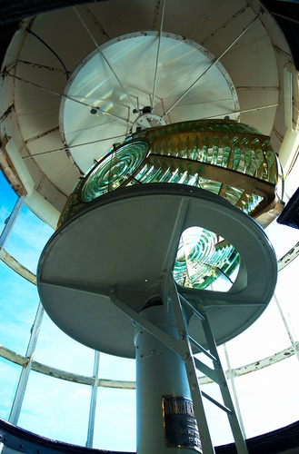 Picture - Inside Split Rock Lighthouse, Minnesota. | PlanetWare